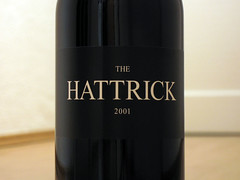 The Hattrick (mfichtner) Tags: 2001 red bottle dof wine label australia shiraz cabernetsauvignon hattrick grenache mclarenvale