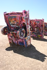 The Cadillac Ranch (wagoldby) Tags: art car canon rust paint cadillac cadillacranch eos20d goldby wagoldby