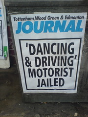 'DANCING & DRIVING' MOTORIST JAILED