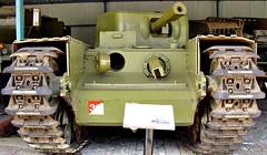 Churchill Mk VIII Crocodile Flamethrower (yewenyi) Tags: museum geotagged army gun tank military tracks australia victoria churchill crocodile vic flamethrower aus turret oceania puckapunyal churchilltank 95mm geo:lat=36996366 geo:lon=145040431