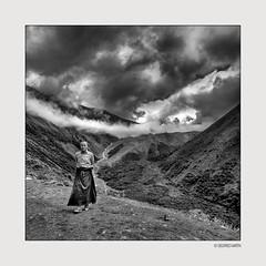 White Clouds 11 (siggi.martin) Tags: tibet tibeter tibetans asien asia mönch monk mönche monks osttibet easterntibet menschen people mann man männer men kloster monastery buddhismus buddhism buddhistisch buddhist glaube belief tibetisch tibetan sichuan berg mountain berge mountains minyakonka konkagompa minyakonkakloster minyakonkamonastery einsam lonely einsamkeit loneliness stille calmness silence tal valley meditation kontemplation contemplation