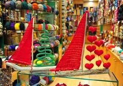 Καράβια  σαλπάρουν για το 2017! (sifis) Tags: sakalak athens greece knitting nikon μαλλια σακαλάκ πλέκω πλέξιμο πλεκτό