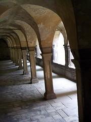 Kreuzgang Kloster Schulpforte (happycat) Tags: germany floor kloster kreuzgang arkade bogengang sachsenanhalt schulpforte fusboden