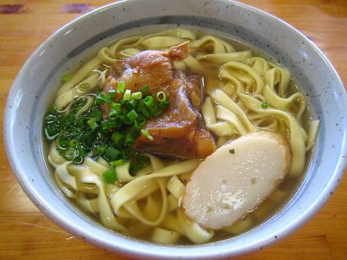 the Okinawa Soba