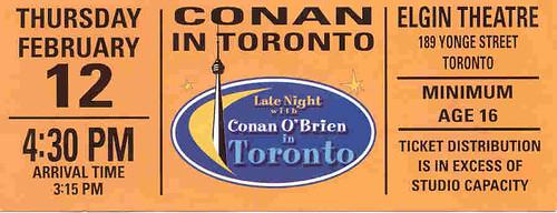February 12, 2004 - Conan O'Brien