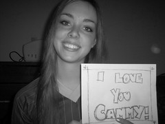 i love you 004 (cowbug12345) Tags: love you cammy bw