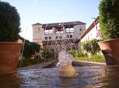 Palacio del Generalife (kharkoma) Tags: alhambra granada generalife spain españa fuente fountain andalucia geolat37177971 geolon3590308