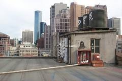 (s2art) Tags: rooftop skyline hydrant 2000 grafitti australia melbourne unfound victoria pc3000 cbd tanks digitalphotograph kodakdc260 nicholasbuilding thequarter dc260 myfirstdigitalcamera digitaldinosaur