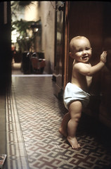 Mis primeros pasos - My first steps (mherrero) Tags: portrait baby interesting child retrato steps first son nios oldphoto criana  oldphotos nio filho fili hijo fils  sohn mherrero 100vistas juancamilo  ilfilodarianna