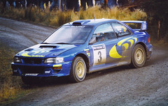 rally (stephenturner photography) Tags: car colin rally wrc subaru impreza mcrae