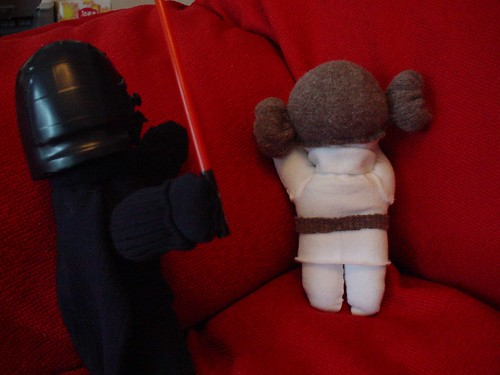 Darth Vader princess Leia plush