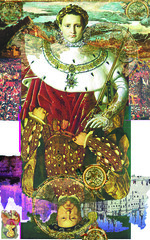 Henry8-Napoleon2 (Mary Bogdan) Tags: published artist assemblage mixedmedia illustrations napoleon henryviii playingcards exhibited marybogdan exhibitedworks mixedmediapaintings