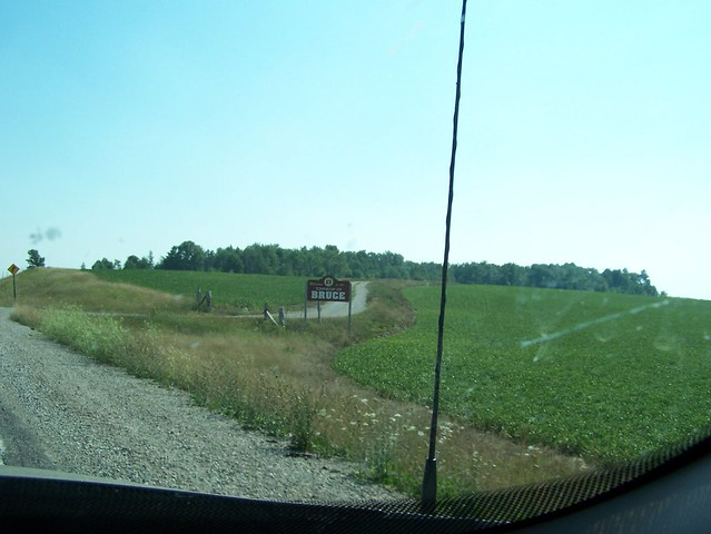 The Bruce County Sign