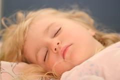 Alisa sleeping