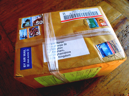 Mystery Parcel by Urban Combing (Ultrastar175g), on Flickr