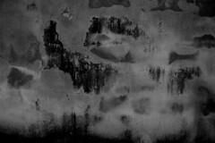 Abstract Wall (John Ashburne) Tags: street blackandwhite bw abstract art monochrome japan wall night japanese blackwhite kyoto  nippon nihon ashburne  jfajapan johnashburne  phototakeninjapan