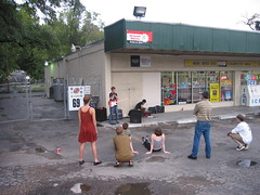 The Dakota Smith @ Food Mart 2002-08-10 (seanmasn) Tags: music austin texas nick dakotasmith foodmart dredwardmorbius convenientstore nickgonzales