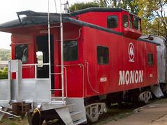 Monon Caboose - by cindy47452