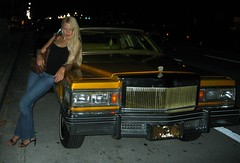 Low Rider (estacey) Tags: me car stacey cadillac lowrider caddy pimpmobile hotcar