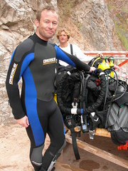 KISS wetsuit diving (Lars Plougmann) Tags: uk cold geotagged support kiss scuba diving safety freediving quarry chepstow wetsuit rebreather ndac tidenham dscn1479 saltfree geo:lat=51658021 geo:lon=2645988 ccuba