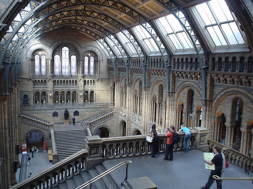 London the Natural History Museum London