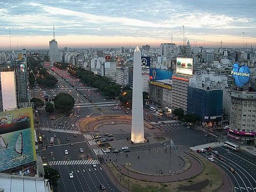 クイズ 世界地図クイズ : Argentina Avenida 9 De Julio