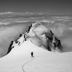 baker copy (Tunnel Vision) Tags: alpine mountains clouds sky climbing mist