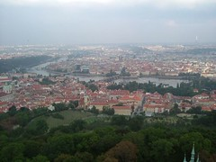 La Vltava (MistyMaMa13) Tags: les toits de prague