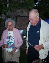 Nana, Bob, and marshmallows