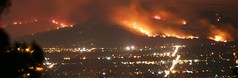 Chatsworth / Topanga Fire - September's end, 2005 (edhiker) Tags: california panorama night fire rebel la losangeles topv333 2000 smoke bestviewedlarge best topanga 1000 simi chatsworth simivalley edhiker 510mm chatsworthfire topangafire best100