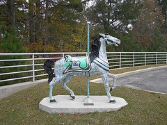 Carousel Horse, Meridian MS