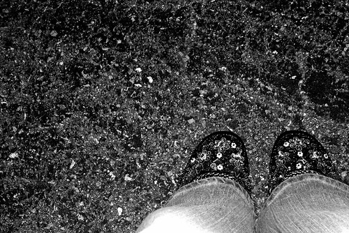 My New Favorite Shoes in B&W