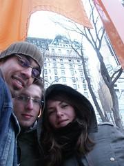 nyc_011 (madmaharaja) Tags: centralpark christo newyork gates orange gatesmemory art saffron newyorkcity nyc travel usa winter
