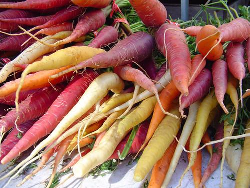 union square carrots