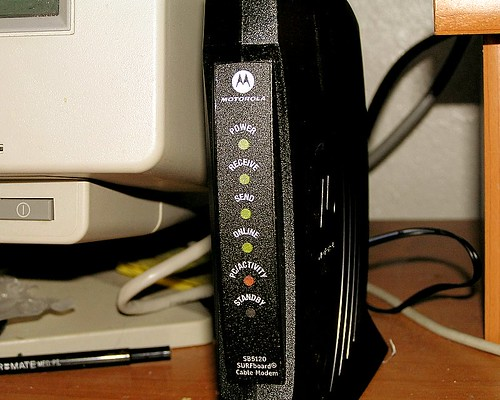 New Cable Modem