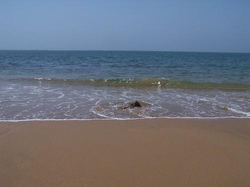 On the Beach  by Niosha.