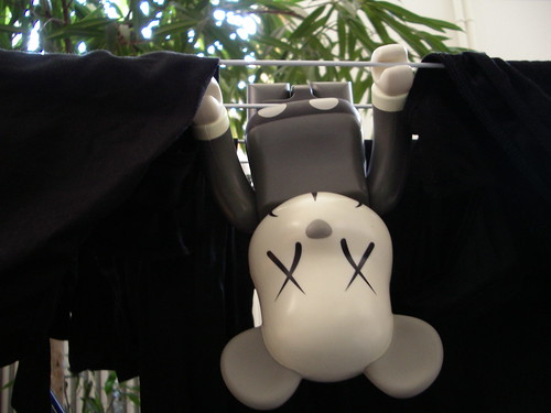 kaws mouse | 400% bearbrick by unfolded.