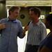 Mark interviewing Werner
