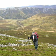 Duncan on side of Carn an Tuirc