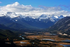 Vermillion Lakes from Tunnel Mountain (FrankMaurer) Tags: canada alberta banffnationalpark vewrmillionlakes