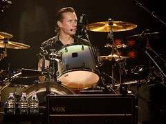Larry Mullen Jr., 10\08\05, New York, NY, Madison Square Garden (bonobaltimore) Tags: newyork u2 madisonsquaregarden larrymullenjr vertigotour2005 october82005 bonobaltimore michaelkurman mikekurman