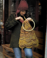 do i really need another handbag? (hitbyabus) Tags: knitting