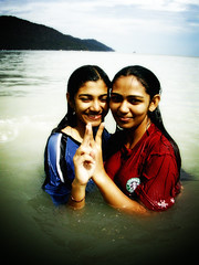 Sharmilla And Prema (JourneyToNoWhere) Tags: sister cousin prema cousinsister
