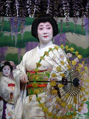 Pontocho Geiko  (mboogiedown) Tags: travel beauty japan asian dance kyoto asia traditional culture maiko geiko geisha   kimono tradition kansai cultural kamogawa pontocho odori   yokoso  mapjapan kyomai  yokosojapan gtaggroup goddaym1 discoverkyoto