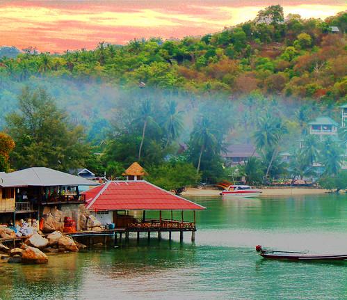 Koh Tao  Thailand taraporn_view_dust