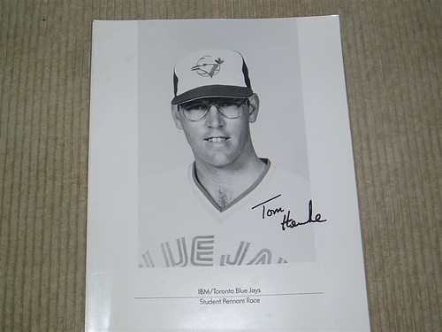 Tom Henke's Autograph
