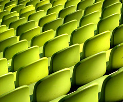 another of this series (SophieMuc) Tags: green catchycolors munich empty seats repetition topf100 olympiastadion ybp 0x839819