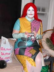 Sally (Templarion) Tags: party halloween topv111 costume alicia sally costumeparty nightmarebeforechristmas