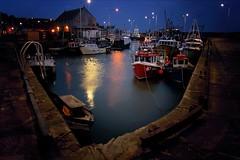 Harbour light (gms) Tags: scotland fife pittenweem harbour lights dark night fishing boats fv10 wow topv111 100v10f