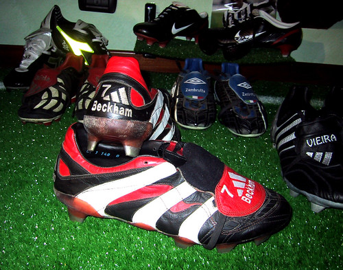 soccer shoes beckham david football calcio